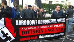 NOP England, Polish ex-pat fascists who apparently don't understand irony.