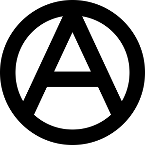 Left Wing Anarchist Logo