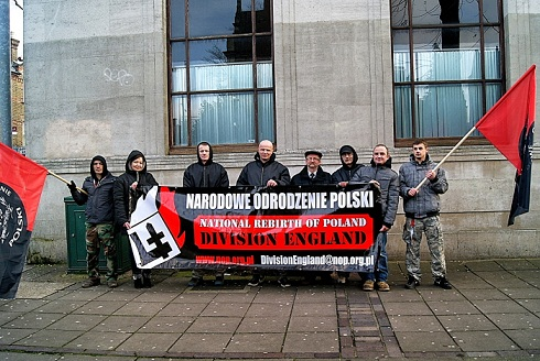 NOP Division England in London recently.