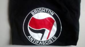 Brighton Antifascists T-shirt. Sizes S to XL. £10 plus P&P.